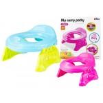 Podiņš-WC uzliknis  TRAVEL POTTY 2in1  1382/7202 (tikai rozā krāsas)
