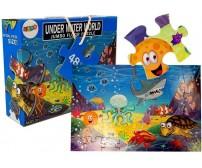 Komplekts-puzle SEA WORLD 48 el. 53843