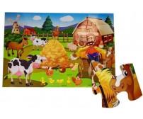 Komplekts-puzle FARM 48 el. 53836