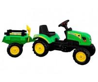Traktors ar pedāļiem BRANSON 135 cm 3827 green