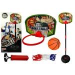Basketbola komplekts 130 cm 93565