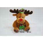 Ziemeļbriedis Rūdolfiņš 40 cm R0250 Sun-day