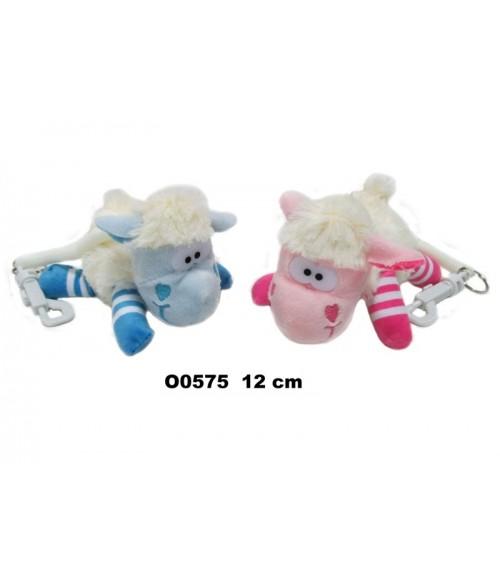 Mīksta rotaļlieta-breloks AITIŅA 12 cm O0575 Sandy
